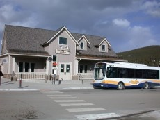 Breckenridge Bus Stop